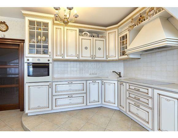 Кухня в стиле прованс угловая